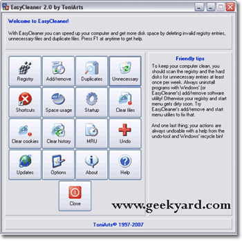 ToniArts EasyCleaner 2.0.6.380