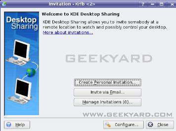Enable Remote Desktop (VNC) On Kubuntu