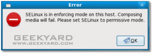 error msg, trouble shooting