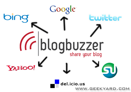 BlogBuzzer – Ping & Boost Your Blog SEO For Free