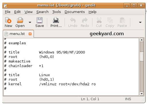 Reinstalling Linux Grub-Bootloader