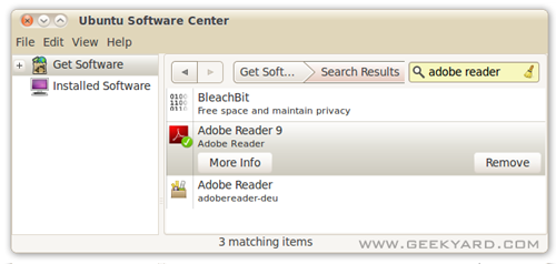 How to Install Adobe reader in Ubuntu 10.04?