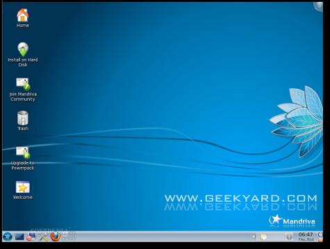 Mandriva Linux 2010 KDE4