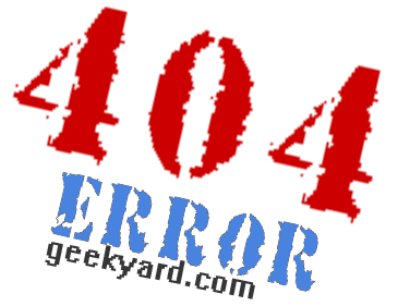 What is 404 Error ?