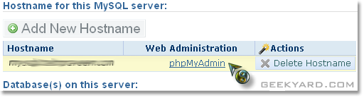 How To Access phpMyAdmin In Dreamhost?
