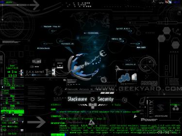Slackware Security Wallpaper