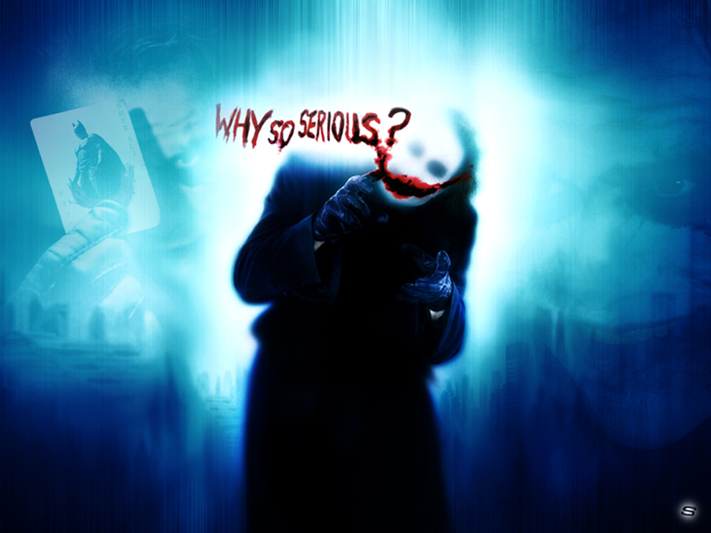 Joker – Why So serious Wallpaper