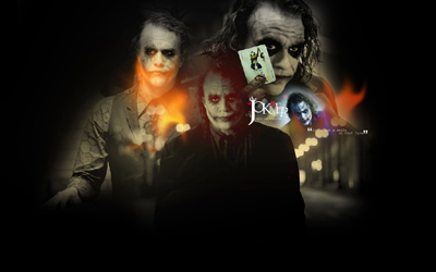 The Dark Knight - Heath Ledger Joker Wallpaper
