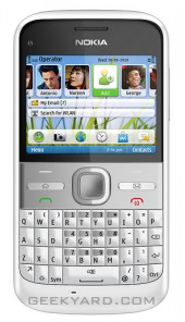 Nokia E5 QWERTY Phone