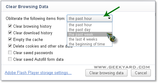 How To Clear Saved Password in Google Chrome
