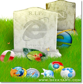 Microsoft Launches IE6 Countdown Website