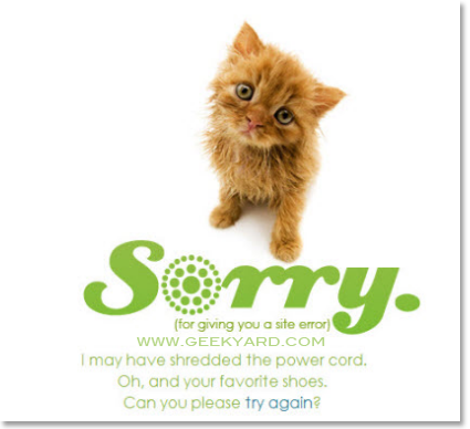 Top 10 Creative 404 Page Not Found Error Designs