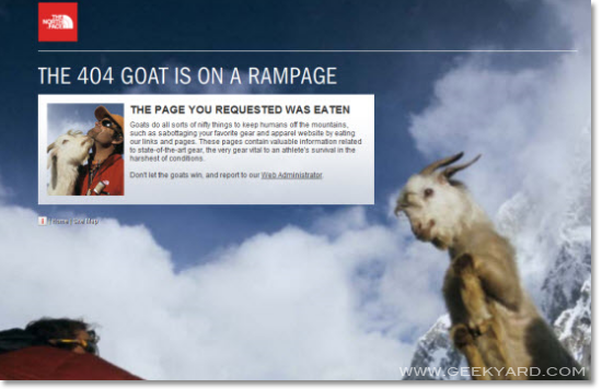 404 Goat is on a Rampage
