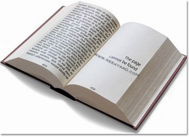 Book Style Page Cannot be Found
