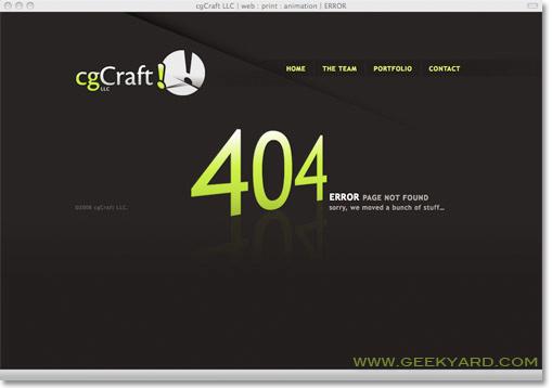 CgCraft 404 error