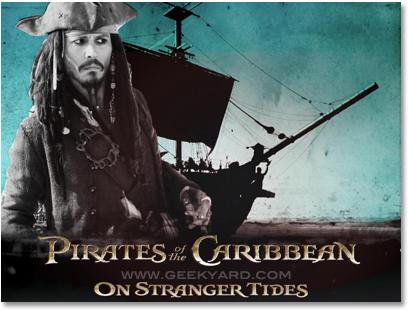 Pirates of the caribbean on Stranger Tides WallPaper3