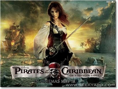 Pirates of the Caribbean - Penelope Cruz Wallpaper
