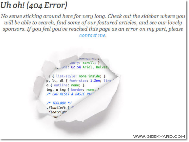 Programmers 404 Error
