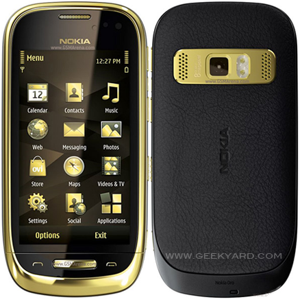 The Latest Mobile from Nokia : NOKIA ORO
