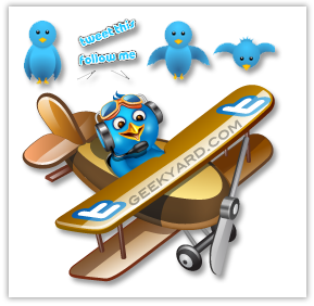 Add Animated Flying Twitter bird in WordPress Blog