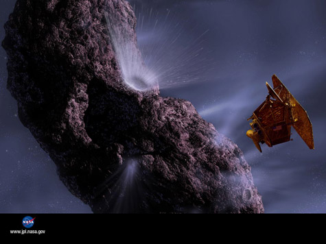 Deep Impact NASA Wallpaper