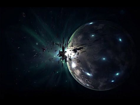 Deep Impact Wallpaper