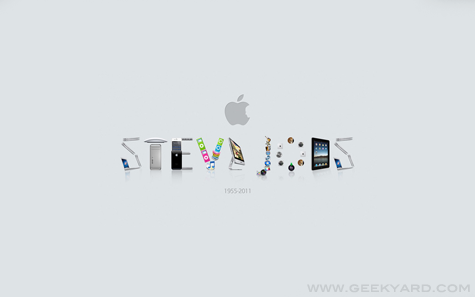 Steve Jobs Creative Wallpaper