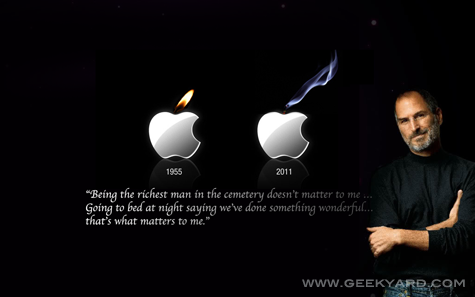 Top 5 Tribute To Steve Jobs Wallpapers