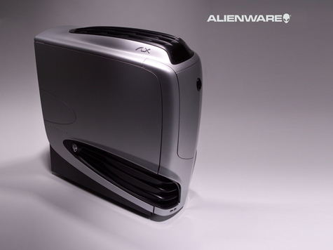 Alienware Desktop HD Wallpaper Gray