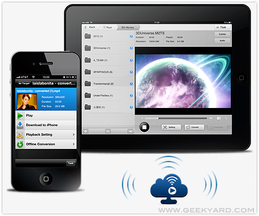 Air Playit – Video and audio streaming to iPhone, iPad and iPod