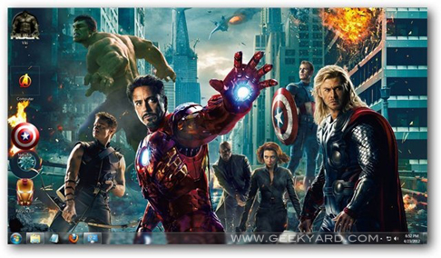 Windows 7 Theme: Download The Avengers Theme for Windows 7