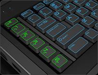 AlienTactX™ Macro Key Controls