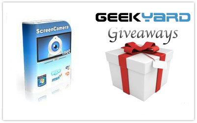 ScreenCamera.Net [FREE Giveaway] for Geekyard Readers