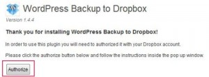 Dropbox-Authorization