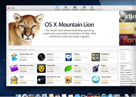 Advanced and Exciting Features of Mac OS X 10.8 – Mountain Lion