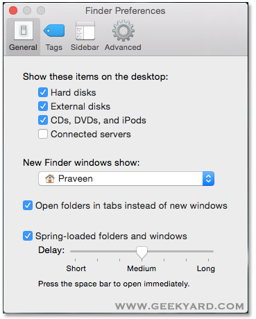 How to Show Your Mac OS X Hard Drive Icon on Desktop?