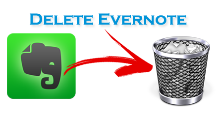 Delete Evernote Mac