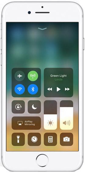 iOS11 Control Centre
