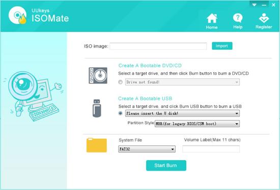 UUkeys ISO Mate Software