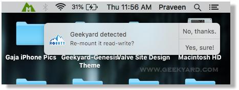 Mounty NTFS for Mac